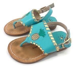 Jack Rodgers Little Miss Pineapple Sandals 6